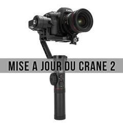Comment faire la mise à jour du Crane 2 de chez Zhiyun ?