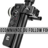 Présentation de la télécommande du Follow Focus pour Crane 2