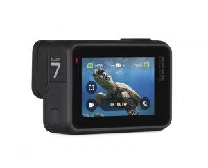 GoPro Hero7 Black sous l'eau