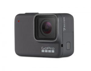 GoPro Hero7 Silver de face
