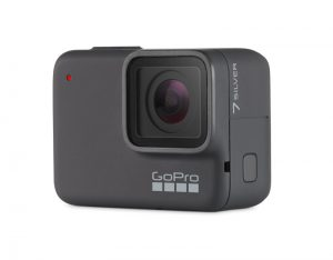 GoPro Hero7 Silver de face