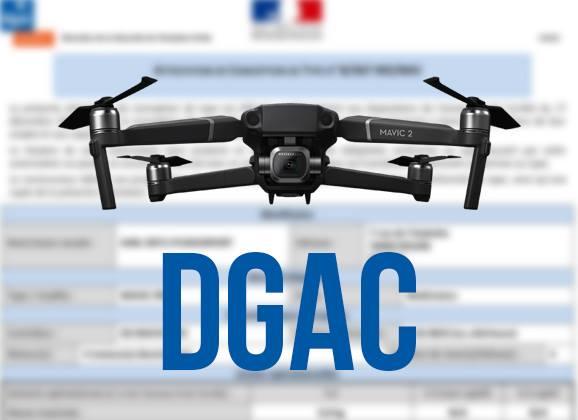 DJI Mavic 2 et homologation DGAC