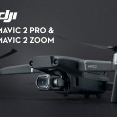 DJI Mavic 2 Pro et DJI Mavic 2 Zoom : l'annonce