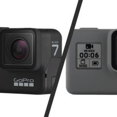 Comparatif GoPro Hero7 Black vs GoPro Hero6 Black