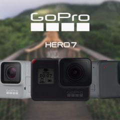 GoPro Hero7, découvrez les trois nouvelles caméras !