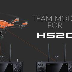 Yuneec H520 fonction Team Mode enfin dispo !