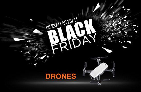 Les bons plans drones du Black Friday chez studioSPORT