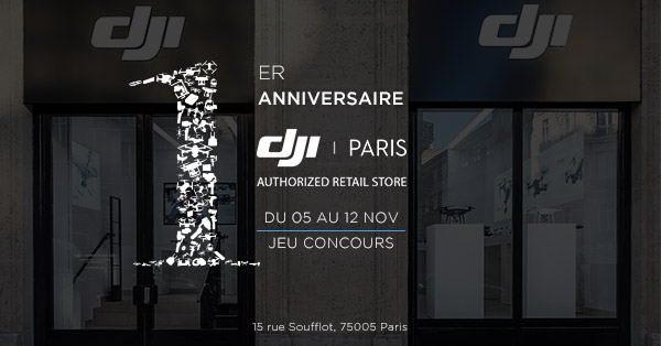 Anniversaire DJI Store 1 an