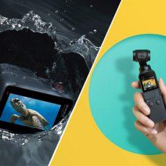 DJI Osmo Pocket vs GoPro Hero7 Black : le comparatif !