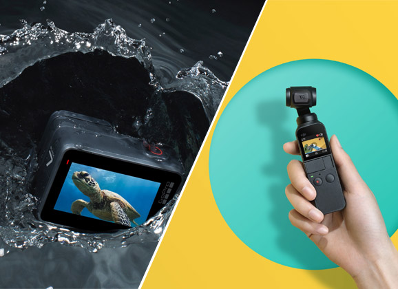 Comparatif DJI Osmo Pocket vs GoPro Hero7 Black