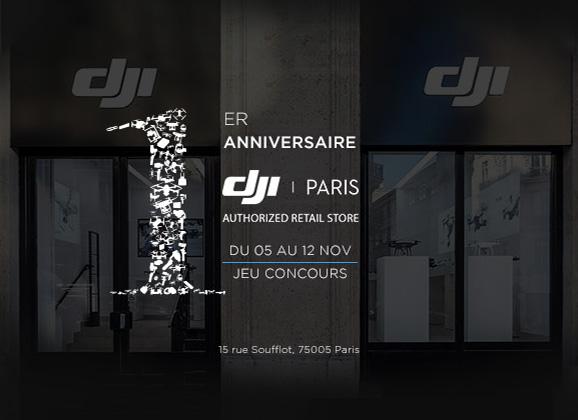 Anniversaire DJI Store