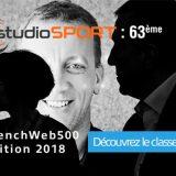 FrenchWeb500 : studioSPORT classé 63ème