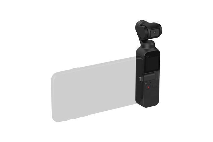 Osmo Pocket et connexion smartphone