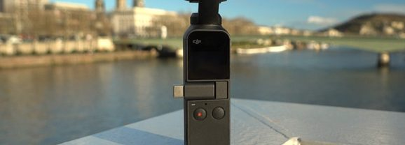 DJI Osmo Pocket test complet  en situation