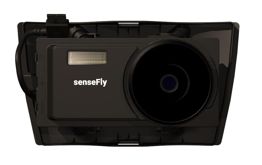 Aeria X SenseFly : la qualité d'un Reflex.