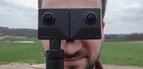 Notre test de la caméra Insta360 EVO
