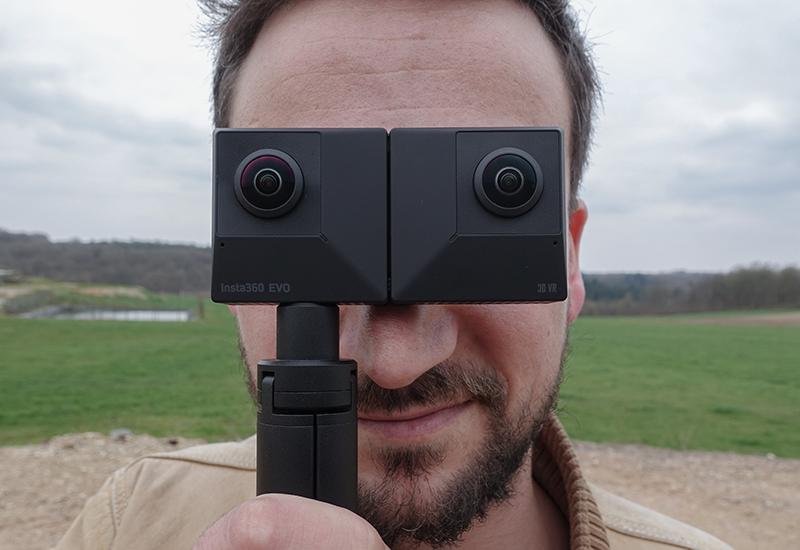 Test Caméra Insta360 EVO