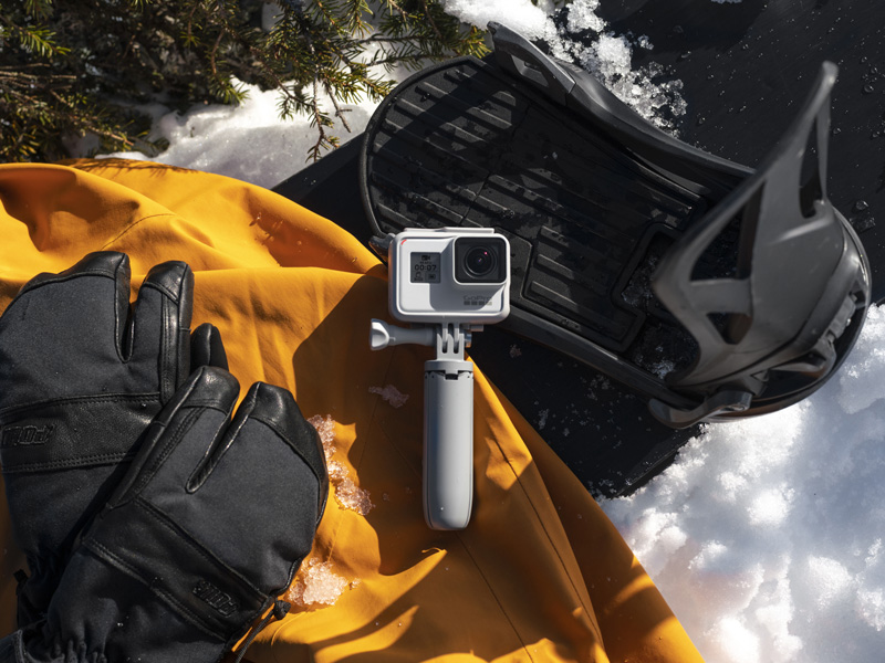 GoPro Hero7 Black Dusk White ski et snowboard