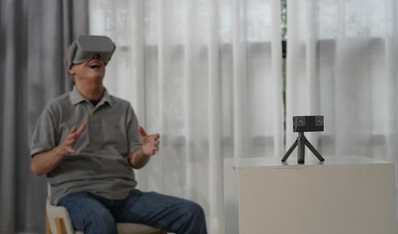 Insta360 avec système Oculus et Vive
