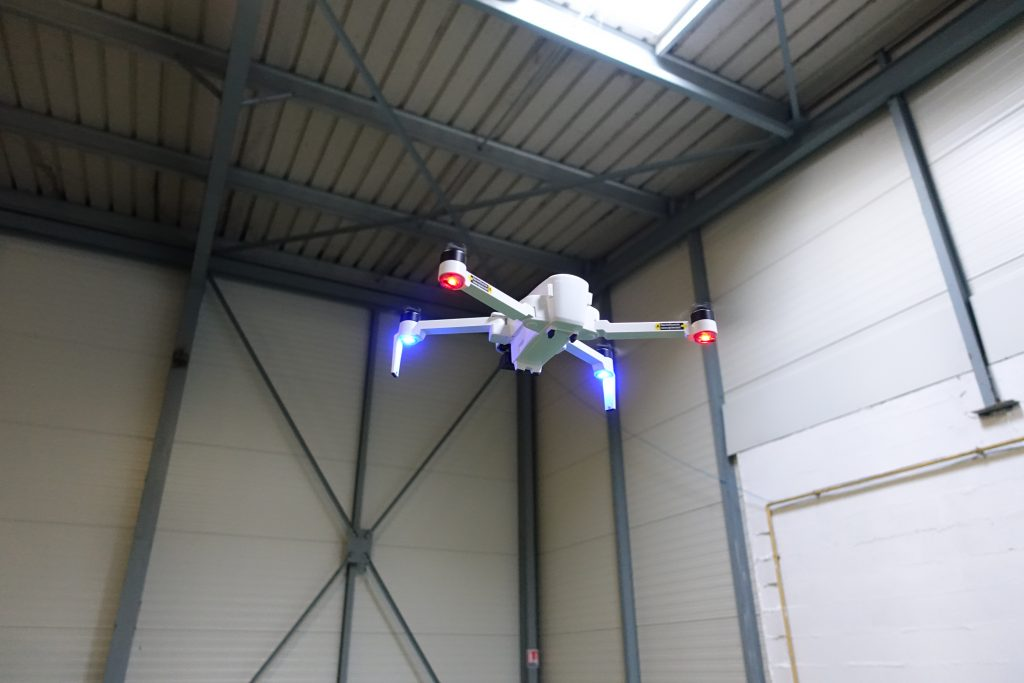 Drone Hubsan Zino en vol