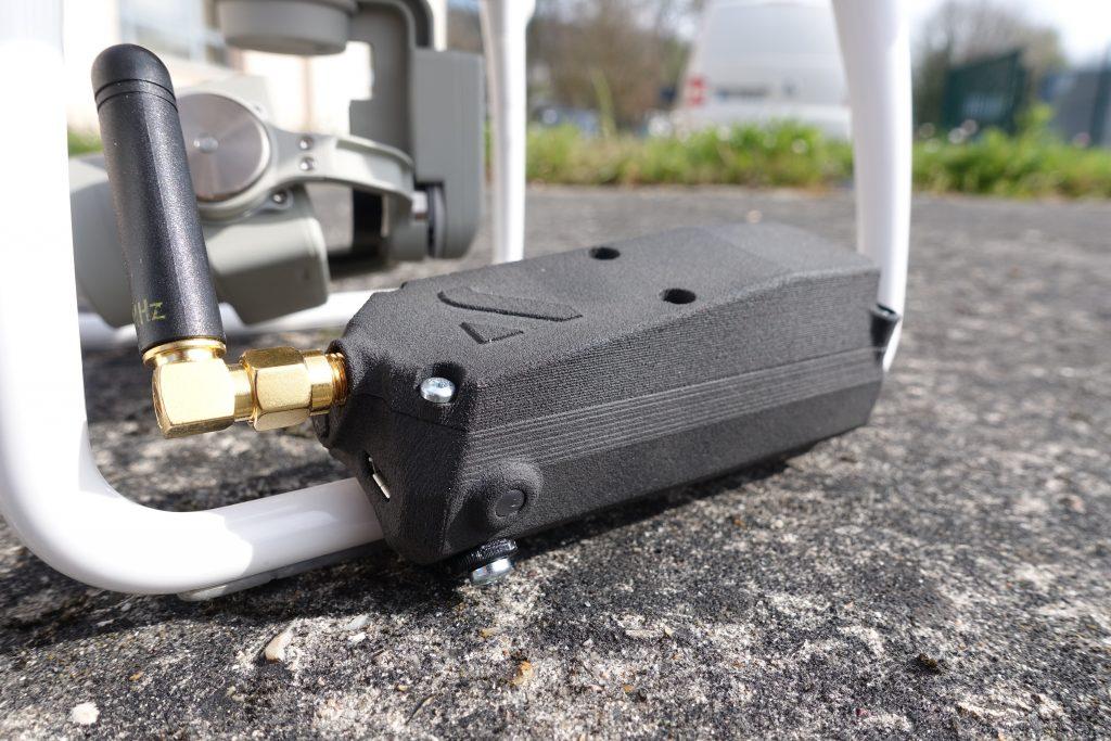 Coupe circuit IDRsys P4 placé sur le train d'atterrissage