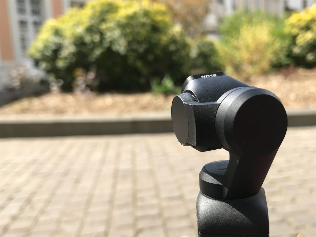 DJI Osmo Pocket avec filtre ND