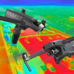 Parrot Anafi Thermal VS DJI Mavic 2 Enterprise Dual  : Le comparatif !