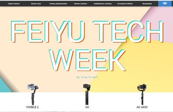 Feiyu Tech week : 15 au 21 avril.