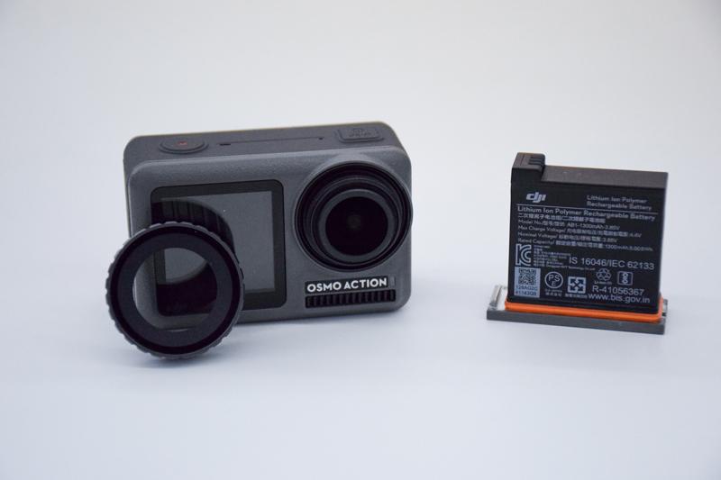 Batterie et filtre