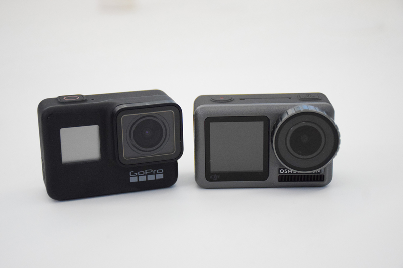 Comparatif GoPro et Osmo Action