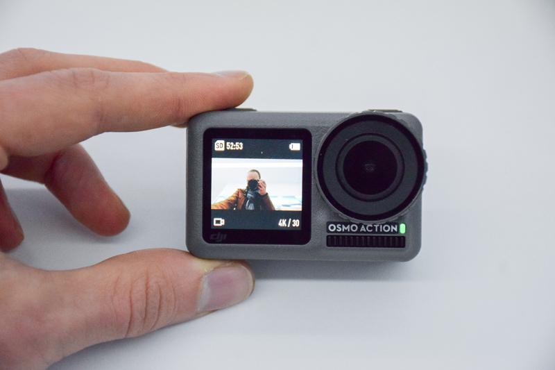 Selfie DJI Osmo Action