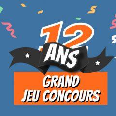 Grand concours : studioSPORT fête ses 12 ans !