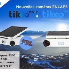 Présentation de deux nouvelles caméras timelapse : TikeePRO2 et TikeePRO2+