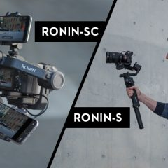 Comparatif technique Ronin-SC contre Ronin-S