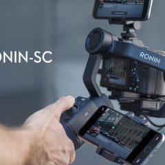 DJI Ronin SC : le Ronin S compact rêvé ?