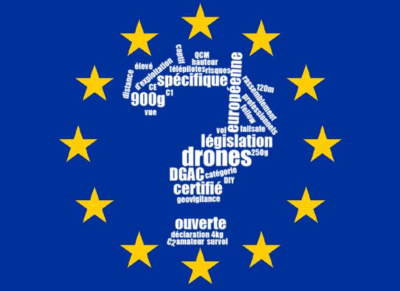 Réglementation européenne drone 2020
