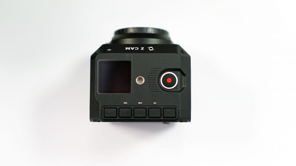 Caméra vue de haut