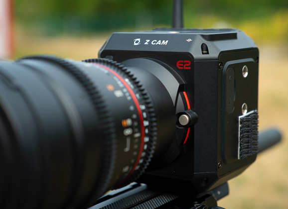 Z CAM E2 + objectif 24mm Samyang
