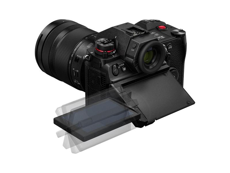 Ecran orientable et inclinable Panasonic S1H