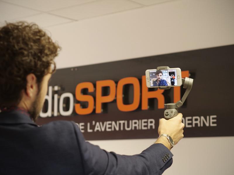 Mode selfie du DJI Osmo Mobile 3