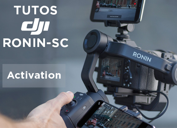 Activation du DJI Ronin-SC