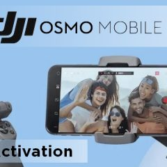 Tuto DJI Osmo Mobile 3 : Activation du stabilisateur