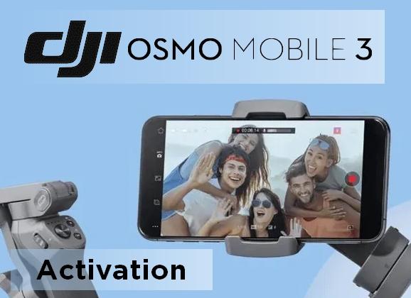 Tuto DJI Osmo Mobile 3 : Activation du stabilisateur