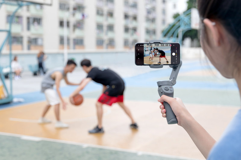 Mode Sport DJI Osmo Mobile