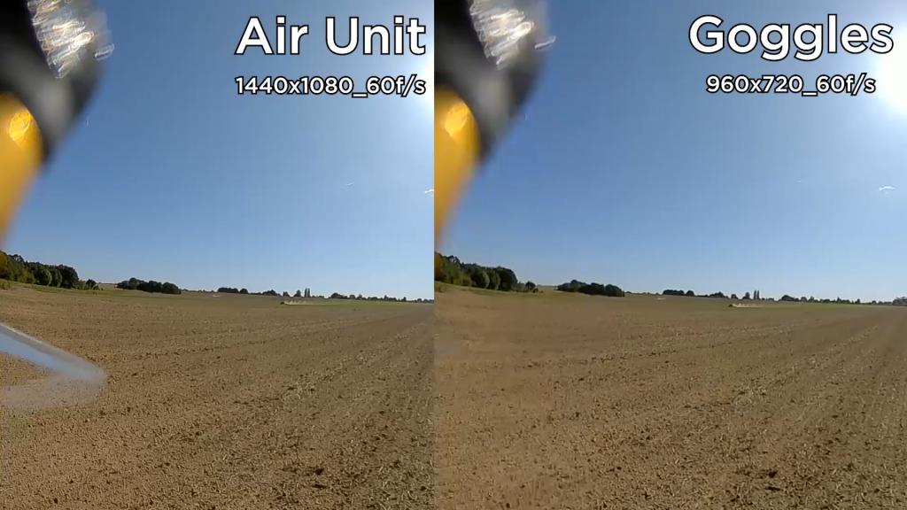Comparatif Air Unit et casque DJI FPV