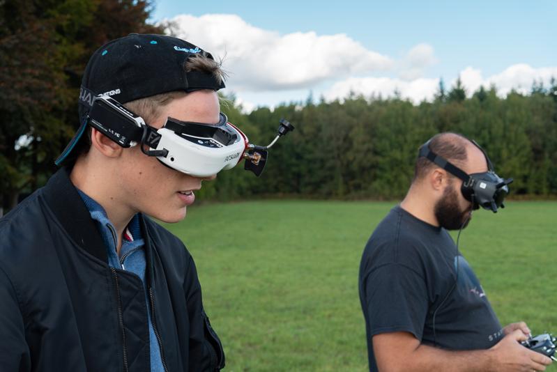 Pilotes de drones racer