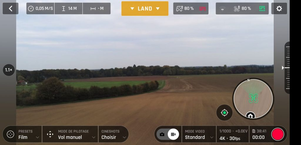 Freeflight 6, application pour Parrot Anafi