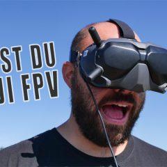 Test DJI FPV : le système de transmission HD pour le racer