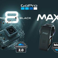 GoPro Hero8 Black et GoPro Max, les deux nouvelles GoPro 2019 !