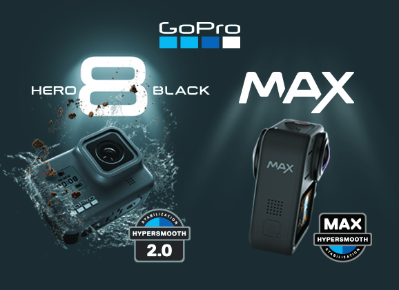 Annonce GoPro Hero8 Black et GoPro Max
